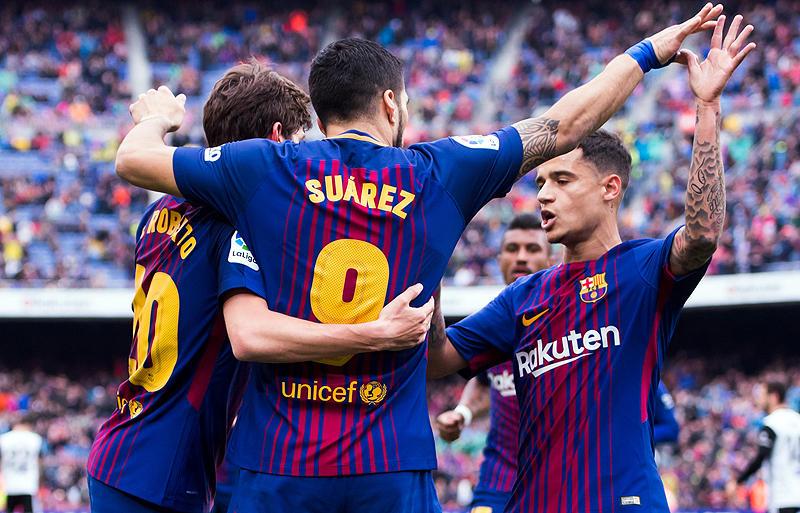 レーティング:バルセロナ 2-1 バ...